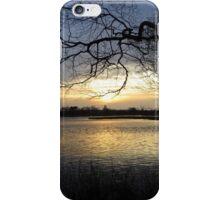 Sunrise by Lake Brunstingerplas iPhone Case/Skin