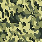 Camouflage army men green pattern by mikath
