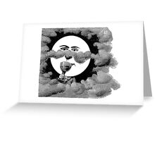 Drunk by night. Greeting Card