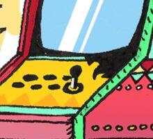 La Borne d'arcade Sticker