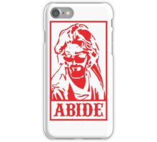 Abide, The Big Lebowski iPhone Case/Skin