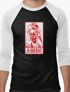 Abide, The Big Lebowski Men's Baseball ¾ T-Shirt