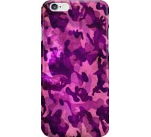 Camouflage army women iPhone Case/Skin