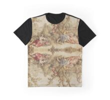 Graphic T-shirt Aubusson french tapestry 18th century Graphic T-Shirt