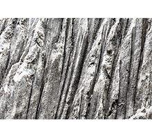 Raw Salt Photographic Print