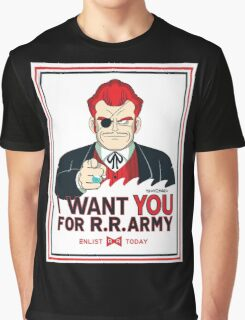 Commander Red Wants YOU! Graphic T-Shirt
