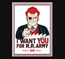 Commander Red Wants YOU! Unisex T-Shirt