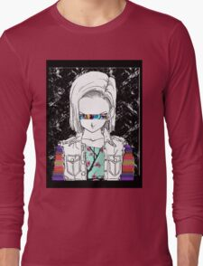 Android18OSPLUS Long Sleeve T-Shirt