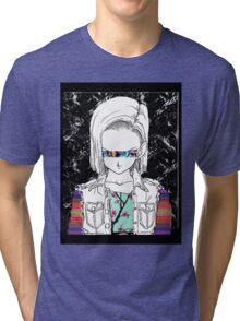 Android18OSPLUS Tri-blend T-Shirt