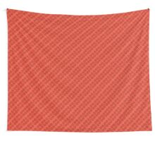 Red, Orange Pattern Wall Tapestry