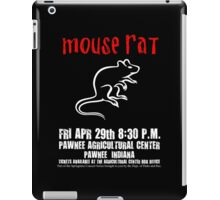 Mouse Rat - Concert Poster iPad Case/Skin