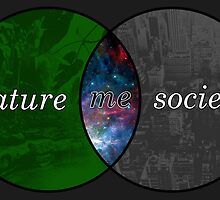 Nature, Society, and Me by tinaodarby