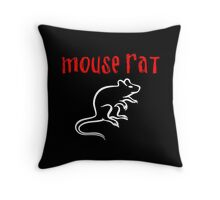 Mouse Rat Throw Pillow