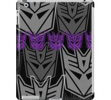 The Iconic Decepticons (black) iPad Case/Skin