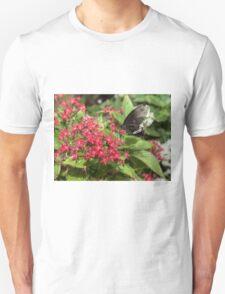 Singapore Butterfly Garden - Black Unisex T-Shirt