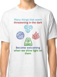 Welcoming in the Light - Iroh Quote Classic T-Shirt
