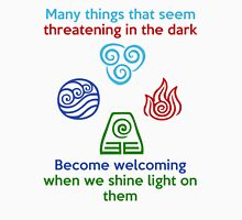 Welcoming in the Light - Iroh Quote Unisex T-Shirt