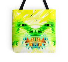 Yellow Psychedelia Tote Bag
