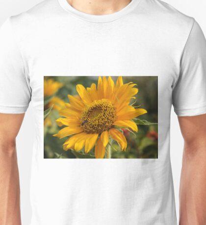 Yellow Bee Flower Unisex T-Shirt