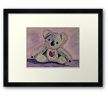 I Love You This Much! Framed Print