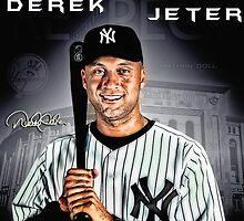 Derek Jeter by haroldlfonville