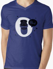 AHOY! Mens V-Neck T-Shirt