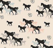 Horses by elenor27