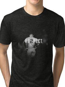 derek jeter respect Tri-blend T-Shirt