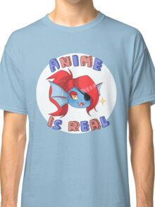 Undyne - Anime is real Classic T-Shirt