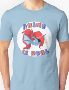 Undyne - Anime is real T-Shirt