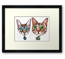 Blix and Sailor Jerry Framed Print