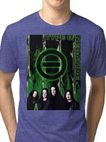 Peter Steele TYPE O NEGATIVE DR (3) Tri-blend T-Shirt