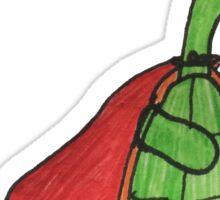 Skateboard Turtle Sticker