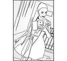 Selfie 1 - Social Media Photographic Print