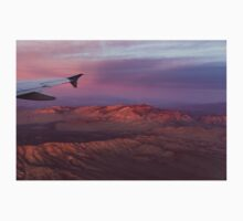 Loving the Window Seat - Pink Dawn Over the High Mojave Desert One Piece - Long Sleeve
