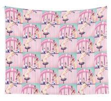bunny bar Wall Tapestry