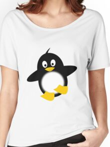Little Funny Penguin Women's Relaxed Fit T-Shirt