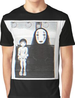 Glichy No Face - Spirited Away  Graphic T-Shirt