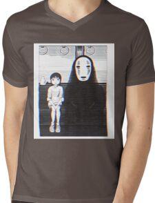 Glichy No Face - Spirited Away  Mens V-Neck T-Shirt