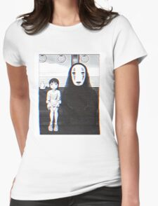 Glichy No Face - Spirited Away  Womens Fitted T-Shirt