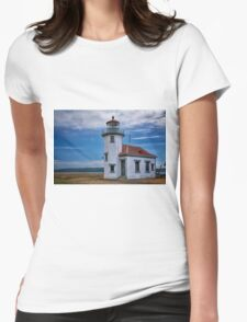 Point Robinson Lighthouse Womens Fitted T-Shirt