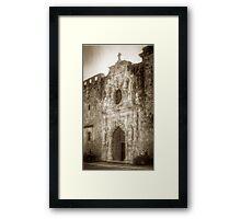 Mission San Jose Facade Framed Print