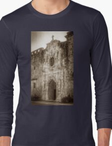 Mission San Jose Facade Long Sleeve T-Shirt