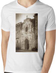Mission San Jose Facade Mens V-Neck T-Shirt