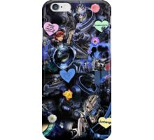 Mass Effect - Garrus Vakarian Collage iPhone Case/Skin
