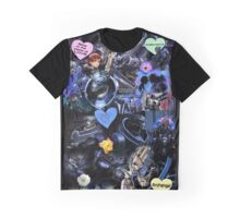 Mass Effect - Garrus Vakarian Collage Graphic T-Shirt