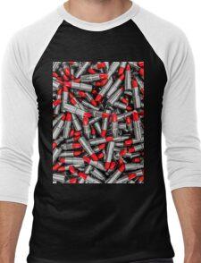 Lipstick chrome Men's Baseball ¾ T-Shirt