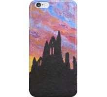 Sunrise Over Whitby Abbey iPhone Case/Skin
