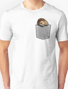 Lion sleeping in a pocket T-Shirt