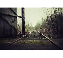 empty track Photographic Print